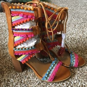 Shoes - Colorful Fiesta Sandals